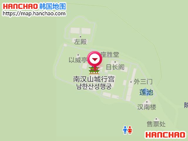 南汉山城行宫